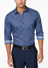Tasso Elba Men's 100% Cotton Long-Sleeve Shirt, Created for Macy's