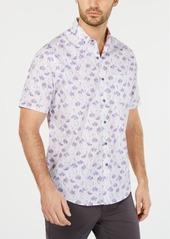 Tasso Elba Men's Arbusto Floral-Print Shirt, Created for Macy's