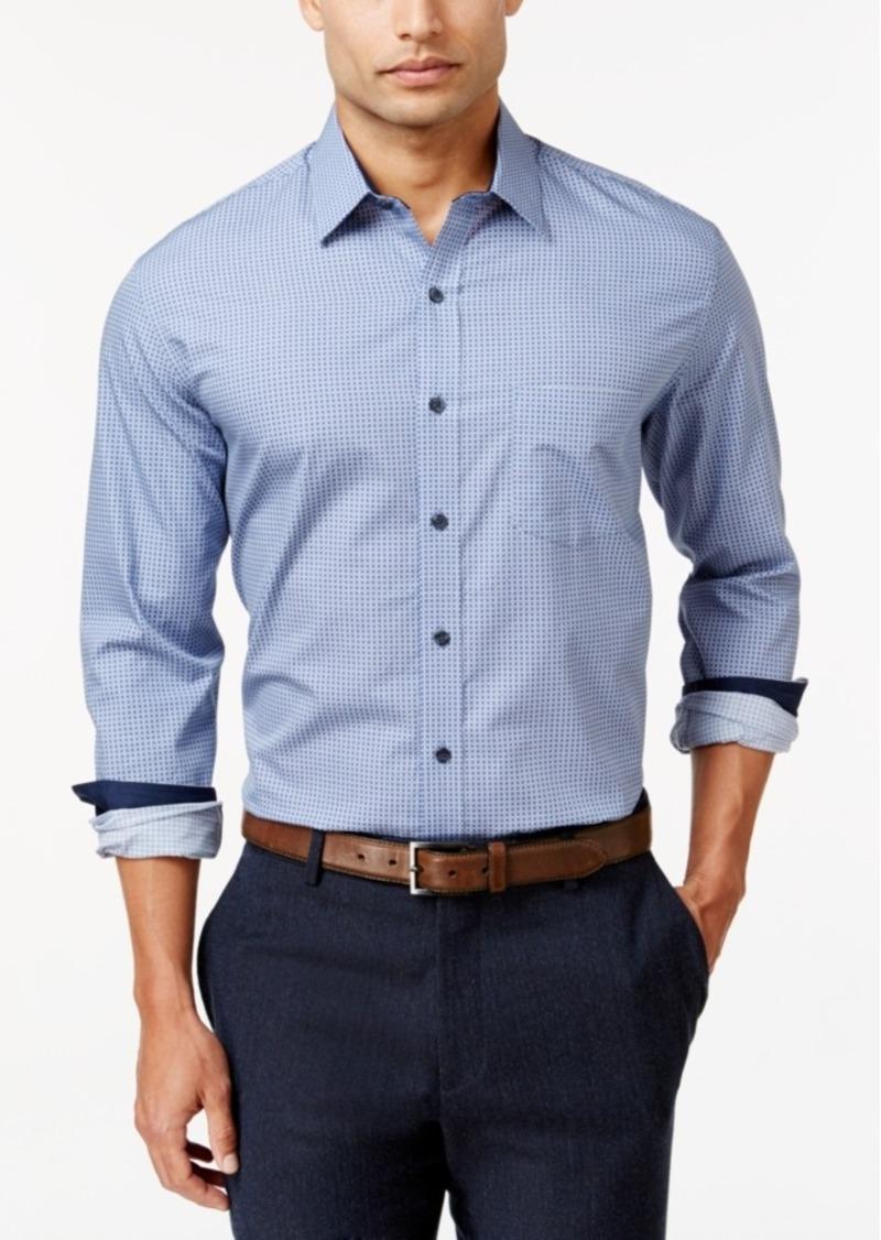Tasso Elba Men's Big and Tall Print Shirt, Regular Fit