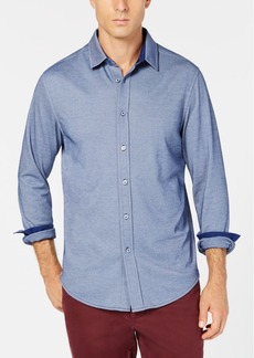 Tasso Elba Men's Birdseye Shirt, Created for Macy's
