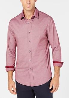 Tasso Elba Men's Birdseye Shirt, Created for Macy's