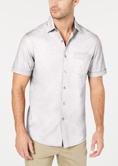 Tasso Elba Men's Button-Down Knit Shirt, Created for Macy's