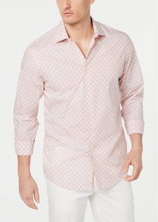 Tasso Elba Men's Capisco Medallion-Print Shirt, Created for Macy's