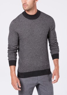 Tasso Elba Men's Cashmere Herringbone Sweater, Created for Macy's