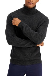Tasso Elba Men's Cashmere Turtleneck Sweater, Created for Macy's