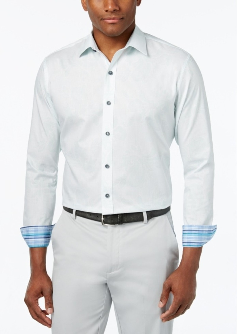 Tasso Elba Men's Check Classic-Fit Shirt, Only at Macy's
