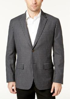Tasso Elba Men's Checked Blazer, Created for Macy's