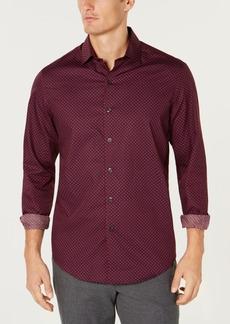 Tasso Elba Men's Cherchio Geometric Print Shirt, Created for Macy's