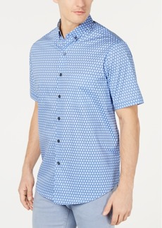 Tasso Elba Men's Chiamo Circle-Print Shirt, Created for Macy's