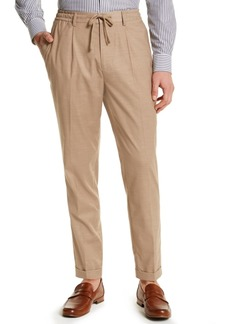 Tasso Elba Men's Classic-Fit Stretch Tropical Weight Dress Pants, Created for Macy's