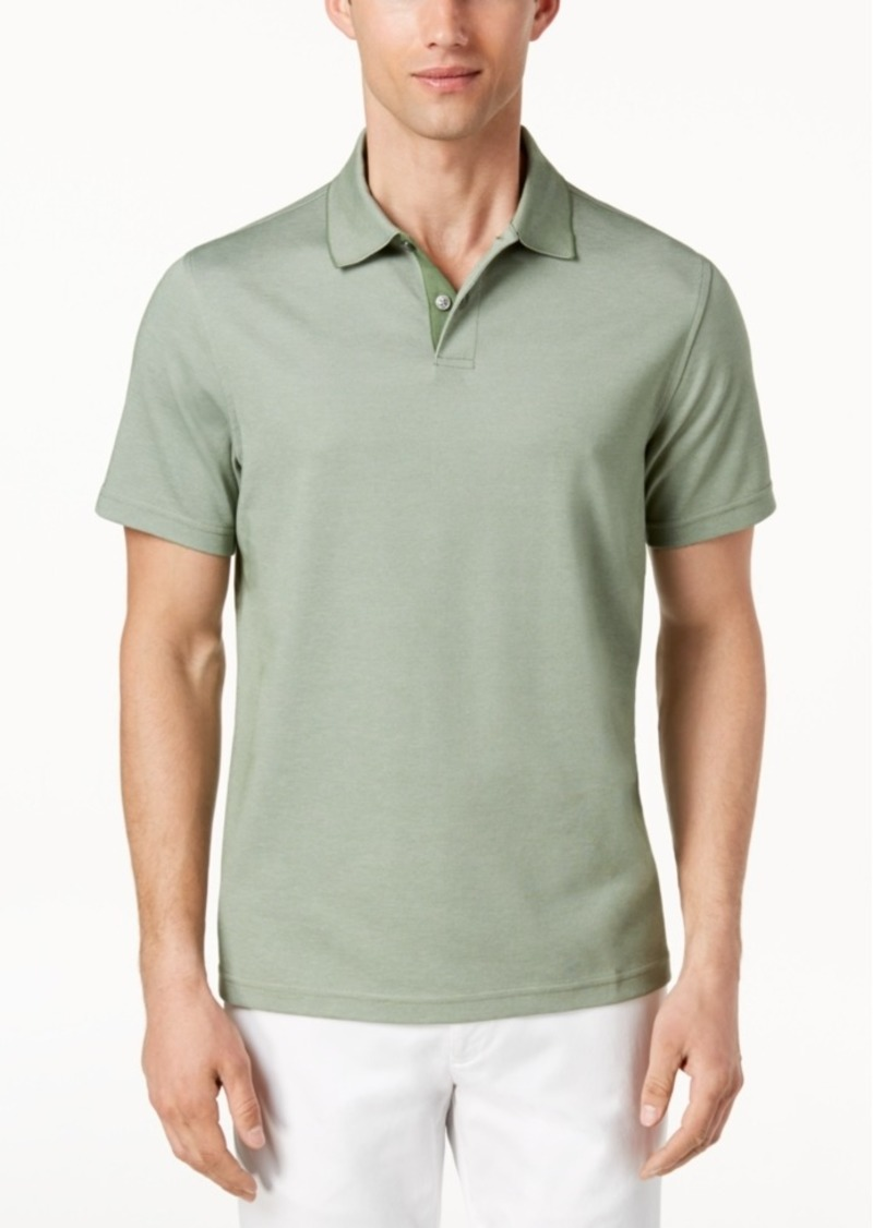 Tasso Elba Men's Classic-Fit Supima Blend Cotton Polo, Created for Macy's