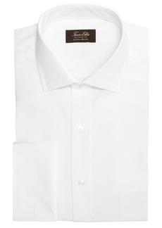Tasso Elba Men's Classic/Regular Fit Non-Iron Double Diamond Dress Shirt, Created for Macy's