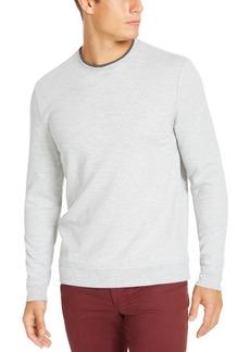 Tasso Elba Men's Crossover Sweater, Created for Macy's