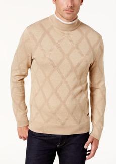 Tasso Elba Men's Diamond Pattern Sweater, Created for Macy's