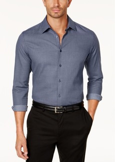 Tasso Elba Men's Dobby Shirt, Created for Macy's