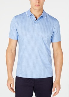 Tasso Elba Men's Dot-Print Supima Cotton Polo, Created for Macy's