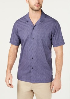 Tasso Elba Men's Estreno Geo-Print Shirt, Created for Macy's
