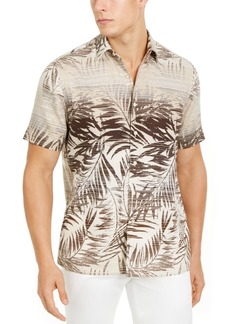 Tasso Elba Men's Tropical Print Shirt, Created for Macy's