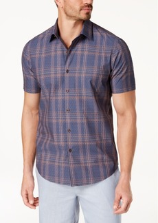 Tasso Elba Men's Foulard Plaid Shirt, Created for Macy's