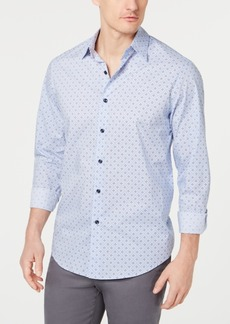 Tasso Elba Men's Foulard Printed Shirt, Created for Macy's