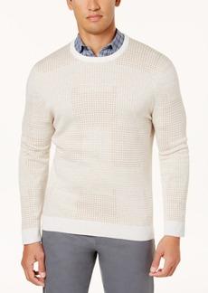 Tasso Elba Men's Geo-Dot Jacquard Sweater, Created for Macy's