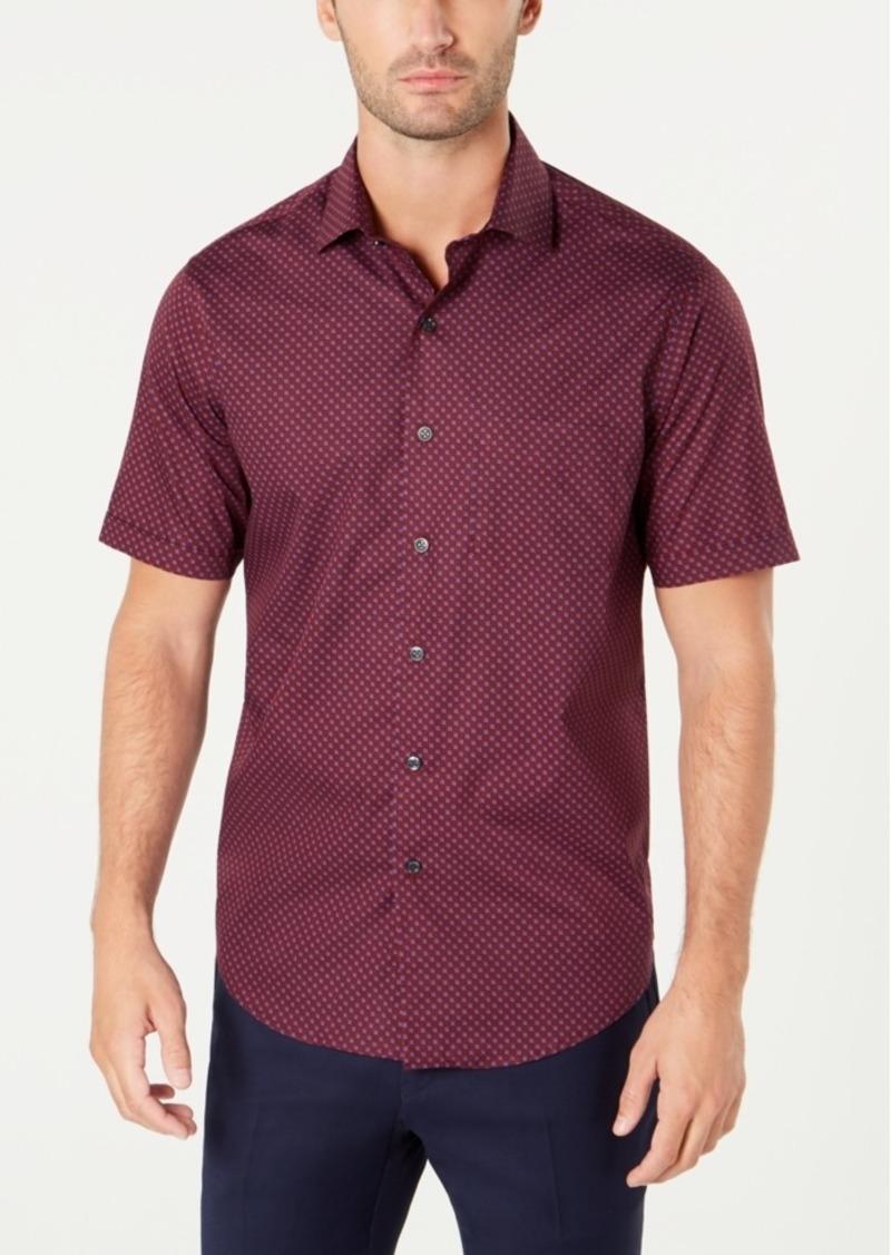 Tasso Elba Men's Geometric Shirt, Created for Macy's