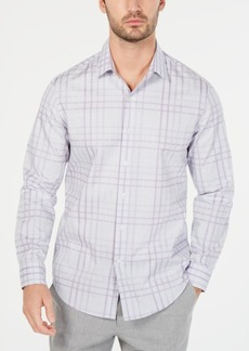 Tasso Elba Men's Giloumo Sateen Plaid Shirt, Created for Macy's