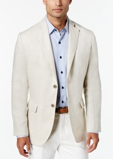 Tasso Elba Men's 100% Linen 2-Button Blazer, Created for Macy's