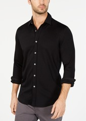 Tasso Elba Men's Knit Button Down Shirt, Created for Macy's