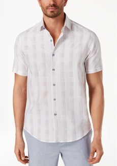 Tasso Elba Men's Latomie Dobby Stripe Shirt, Created for Macy's