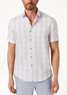 Tasso Elba Men's Latomie Dobby Stripe Shirt, Created for Macy's