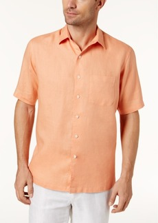 Tasso Elba Men's Linen Pocket Shirt, Created for Macy's