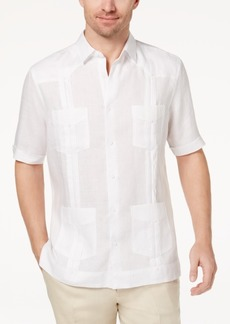Tasso Elba Men's Linen Shirt, Created for Macy's