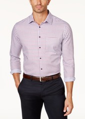 Tasso Elba Men's Long-Sleeve Checked Shirt, Created for Macy's