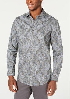 Tasso Elba Men's Stretch Loreti Paisley Shirt, Created for Macy's