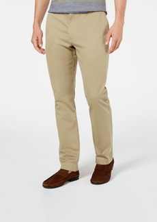 Tasso Elba Men's Luca Flat-Front Stretch Pant, Created for Macy's