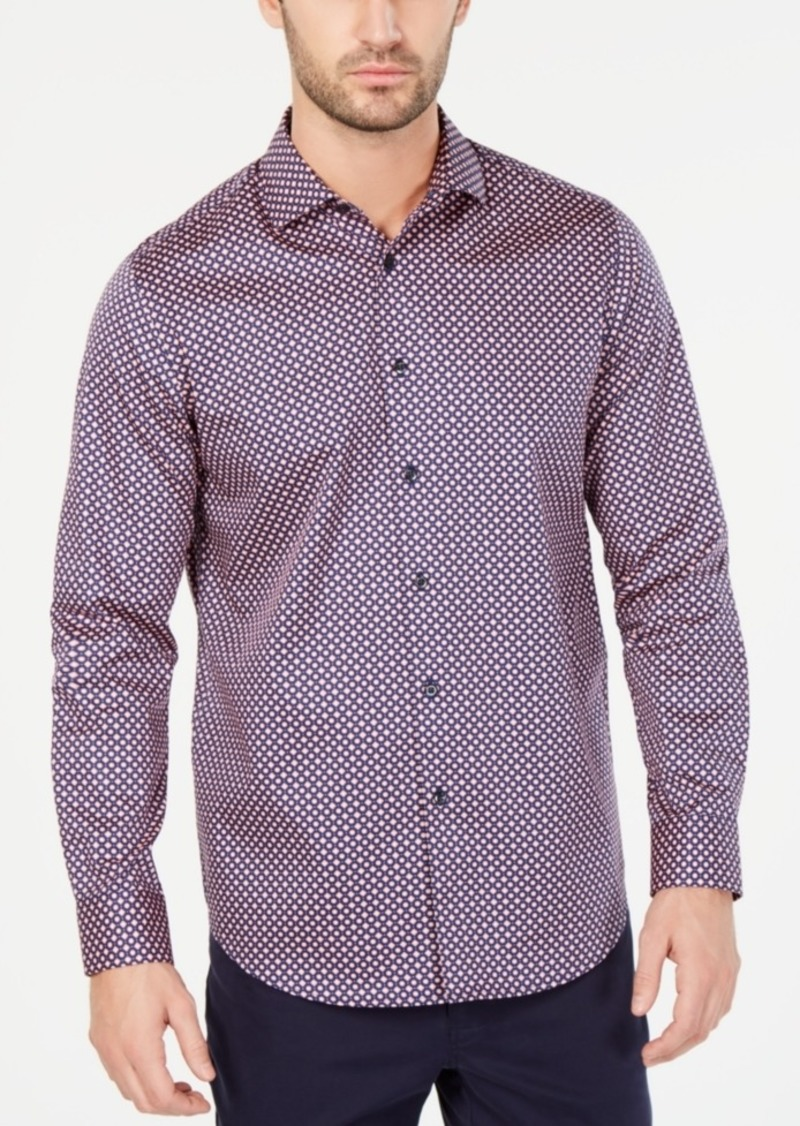 Tasso Elba Men's Marcello Printed Shirt, Created for Macy's