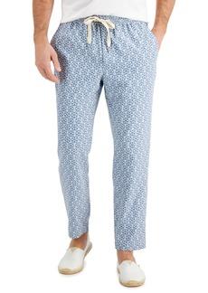 Tasso Elba Men's Medallion Print Drawstring Pants, Created for Macy's