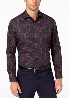 Tasso Elba Men's Medallion Print Shirt, Created for Macy's