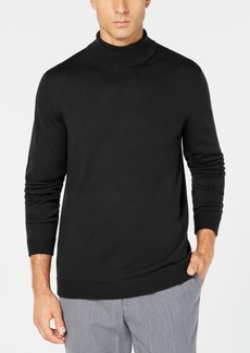 Tasso Elba Men's Merino Wool Turtleneck Sweater, Created for Macy's