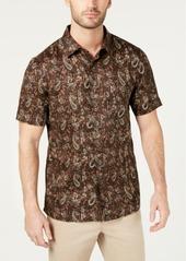 Tasso Elba Men's Merzo Paisley Linen Shirt, Created for Macy's