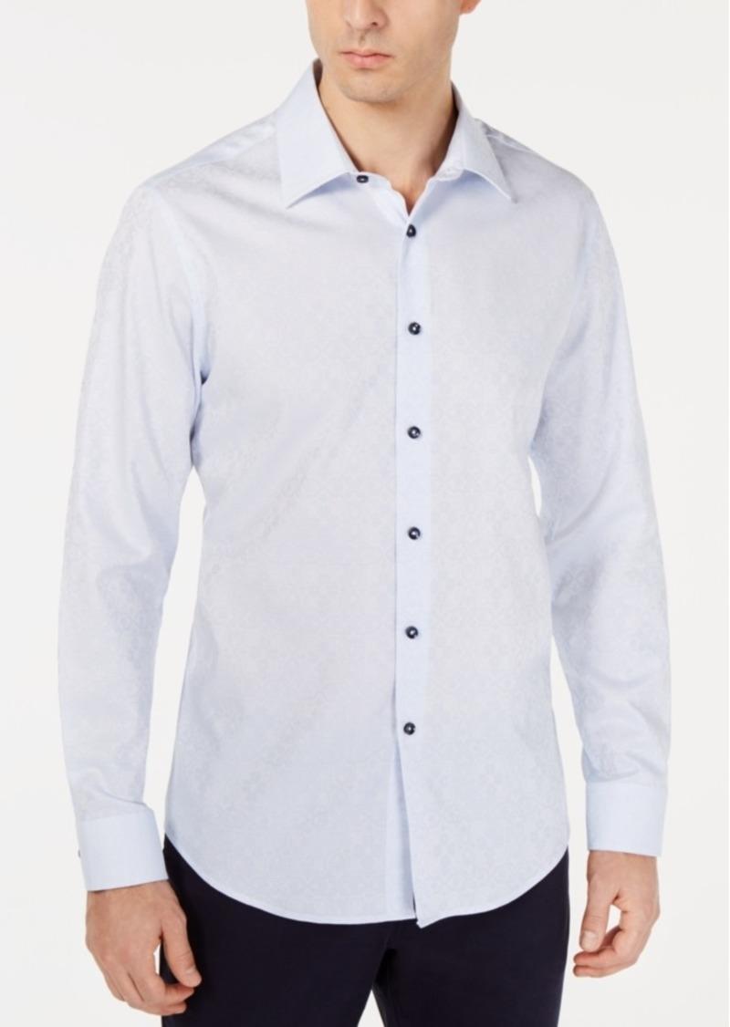Tasso Elba Men's Olivencia Medallion Shirt