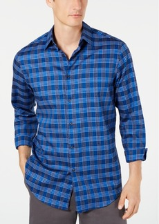Tasso Elba Men's Omilia Dobby Stretch Shirt, Created for Macy's
