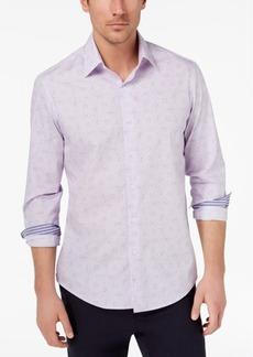 Tasso Elba Men's Paisley Medallion-Print Shirt, Created for Macy's
