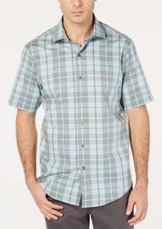 Tasso Elba Men's Prego Plaid Shirt, Created for Macy's