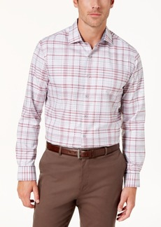 Tasso Elba Men's Prento Plaid Shirt, Created for Macy's