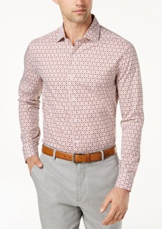 Tasso Elba Men's Printed Shirt, Created for Macy's