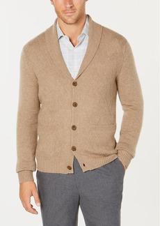 Tasso Elba Men's Pure Cashmere Cardigan, Created for Macy's