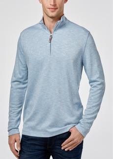 Tasso Elba Men's Quarter Zip-Up Pullover, Created for Macy's
