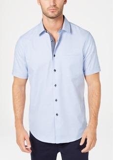 Tasso Elba Men's Regular-Fit Box Dobby Shirt, Created for Macy's